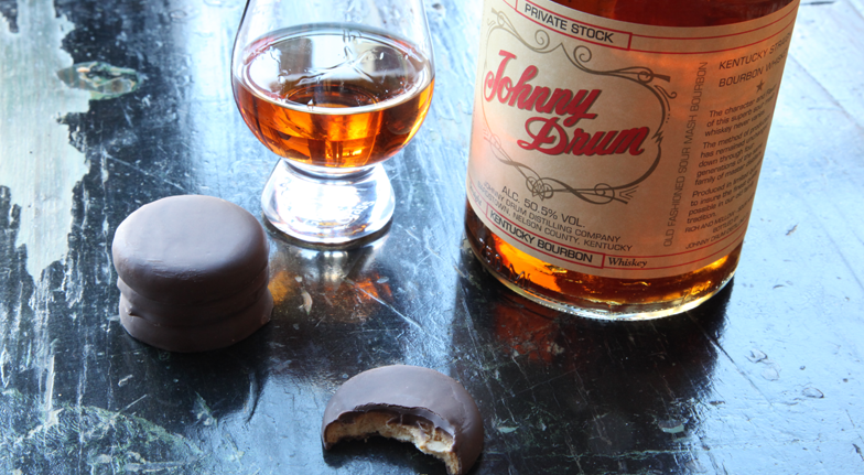 Bourbon and Girl Scout Cookies - Peanut Butter Patties and Johnny Drum