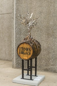 Barrels can only be used once for bourbon. Most are reused and some become art works